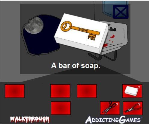 key in soap